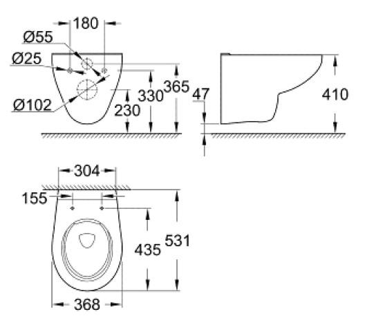 geberit duofix vorwandelement grohe wc sp lrandlos mit beschichtung komplettset ebay. Black Bedroom Furniture Sets. Home Design Ideas