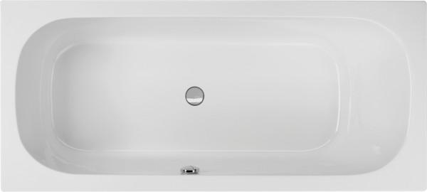 Rechteckwanne Bassilio 180×80cm rechts, weiß