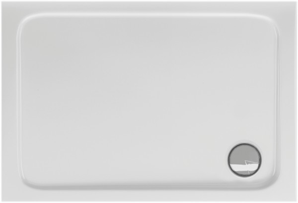 Rechteckduschwanne Cosima 90×80cm, weiß