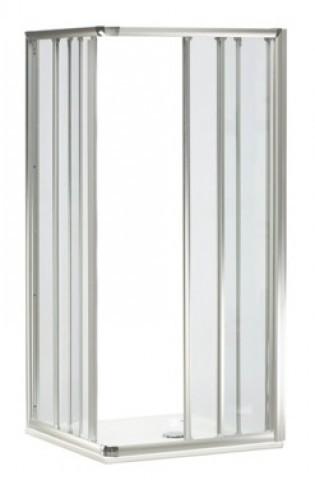 DU Top Eckeinstieg komplett, Echtglas-klar