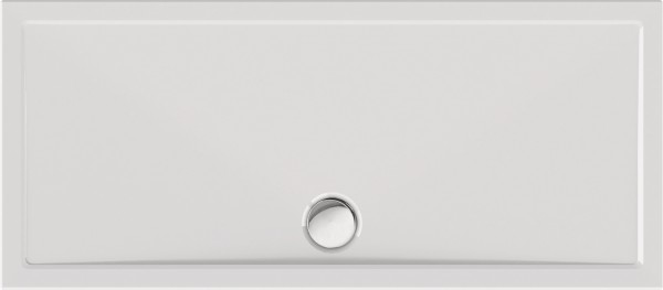 Rechteckduschwanne Alerio 160×70cm, weiß