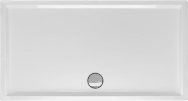 Rechteckduschwanne Fantio 100×90cm, weiß