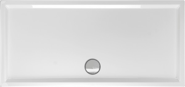 Rechteckduschwanne Fantio 170×80cm, weiß