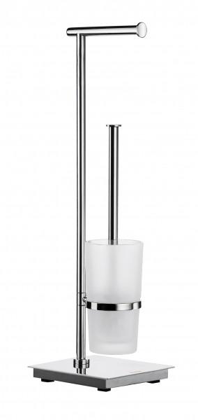 WC Standmodell mit Toilettenpapierhalter OUTLINE LITE