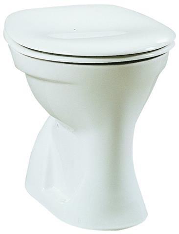 TAKE 1000 Stand-Flachspül-WC weiß, Abgang innen senkrecht