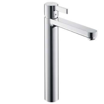 Hansgrohe Metris S Highriser mit Ablaufgarnitur, für Waschschüsseln