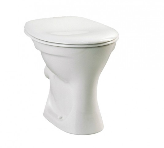 Home1000 Stand-Flachspül-WC, Abgang außen