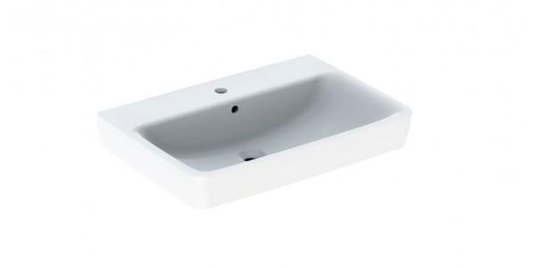 Geberit Renova Plan Waschtisch 85 cm weiß inkl. Beschichtung