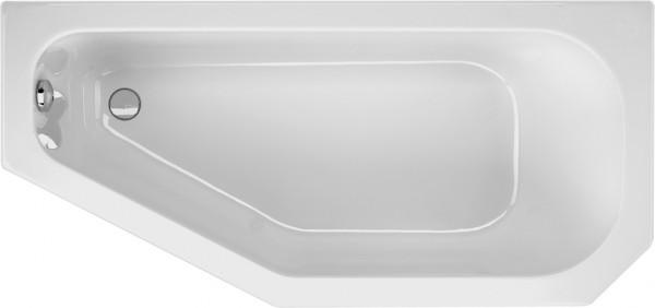 Raumsparwanne Priscilla 160×75cm rechts, weiß