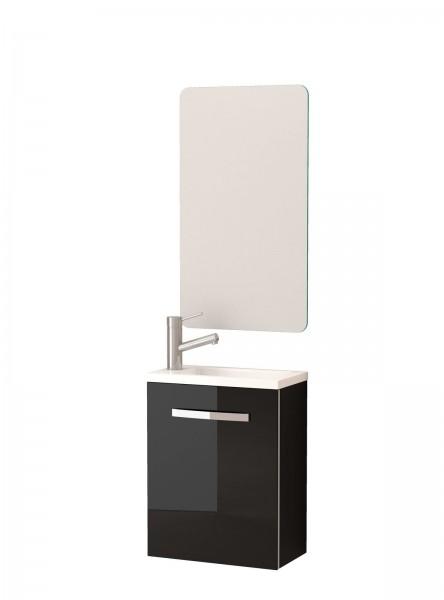Cosima Domino Waschtisch mit Unterschrank 40cm weiß