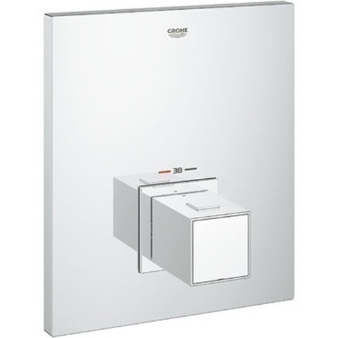 Grohe Grohtherm Cube Thermostat-Zentralbatterie, chrom