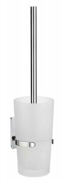 WC-Bürste mit mattem Glas POOL