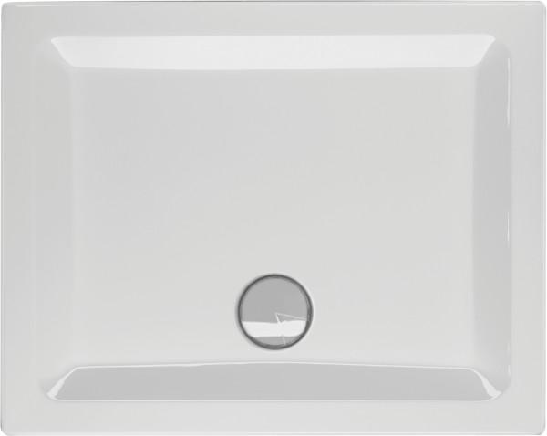 Rechteckduschwanne Ference 100×75cm, weiß