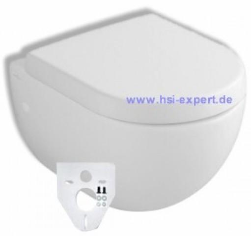 Villeroy & Boch Keramik Wand-WC Subway Compact