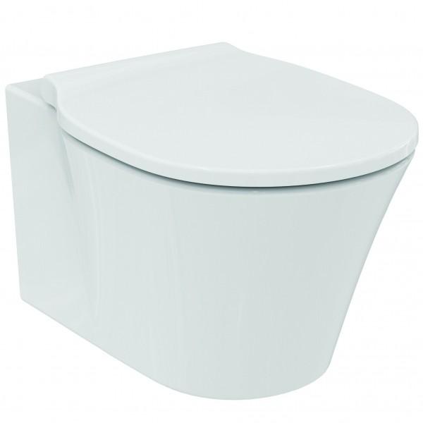 Ideal Standard Connect Air Wand WC, spülrandlos, Tiefspüler mit Beschichtung