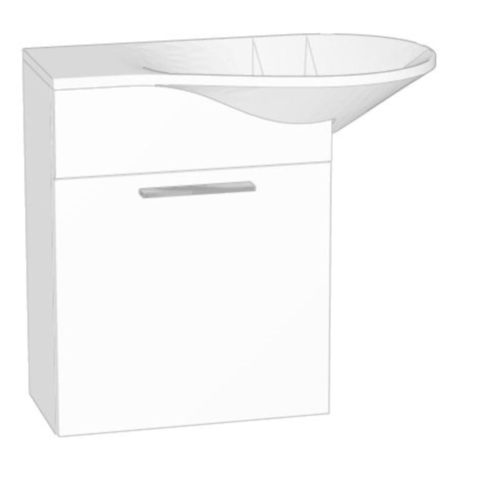 Burgbad Pli Waschtischunterschrank Mit Waschtisch Waschtische