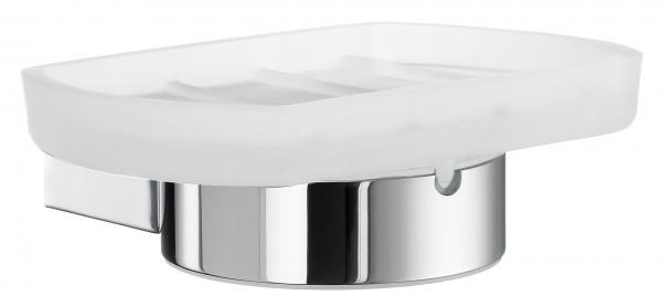 Seifenschalenhalter mit mattem Glas AIR