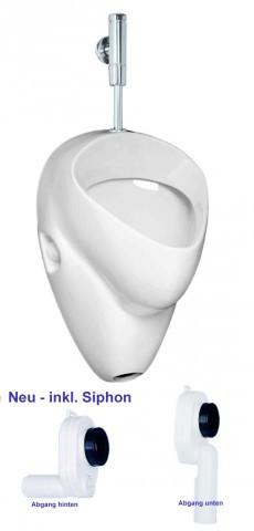 für Keramag Duravit  Urinal  mit Zulaufgarnitur Siphon z,B Absaug