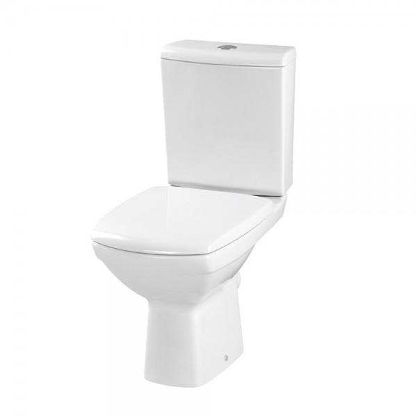 Design Stand- WC-Kombi Set Spülrandlos mit Beschichtung