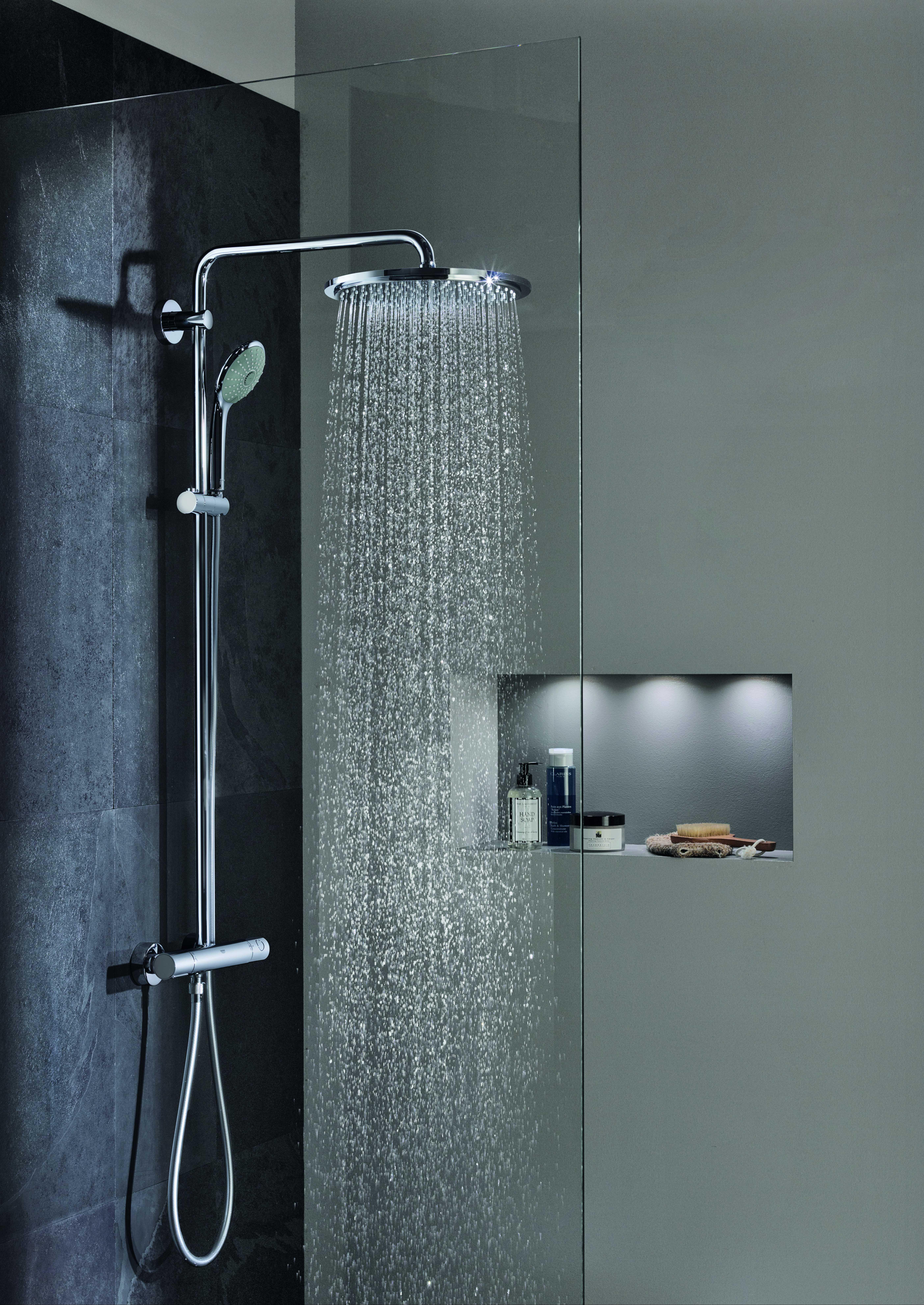 GROHE Euphoria XXL System 310 Duschsystem mit Thermostatbatterie für