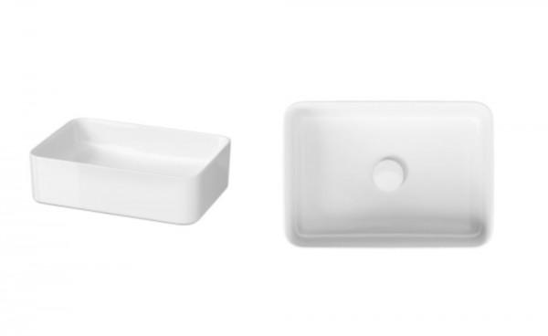 Bartolo Design Aufsatz-Waschtisch 50 mit LotusClean-Beschichtung, rechteckig