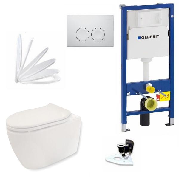 Auswahl an Marken-WCs mit LotusClean und WC-Sitz
