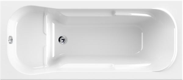 Raumsparwanne Fantio 160×70cm, weiß
