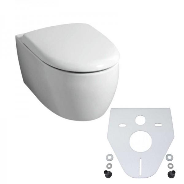 Keramag Tiefspül-WC 4U + Beschichtung