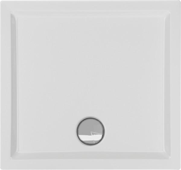 Rechteckduschwanne Fantio 80×75cm, weiß