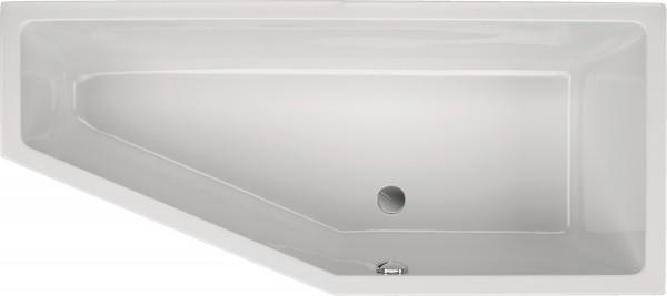 Raumsparwanne Concetta 170×75cm rechts, weiß