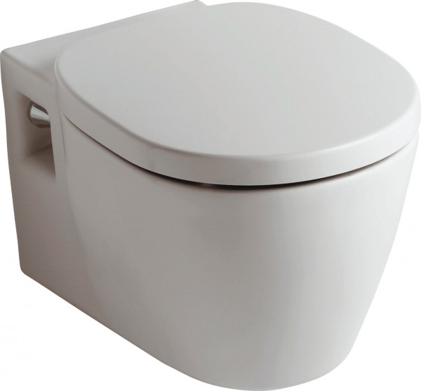 Ideal Standard Connect Wand Tiefspül WC weiß, mit Beschichtung