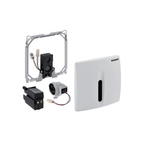 Geberit HyBasic Urinalsteuerung berührungslos, IR/Netz, weiß