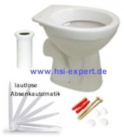 Stand WC incl. Beschichtung, Deckel und kpl. Zubehör