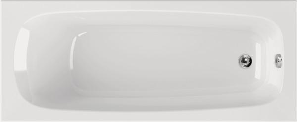Rechteckwanne Abelina 170×75cm, weiß
