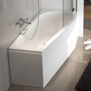 Riho Raumspar Badewanne 160×80cm, Ausführung links