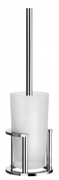 WC-Bürste mit mattem Glas OUTLINE