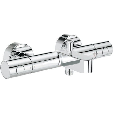 Grohe Grohtherm 1000 Cosmopolitan Thermostat-Wannenbatterie, chrom