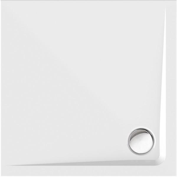 Viereckduschwanne Gono 90×90cm, weiß