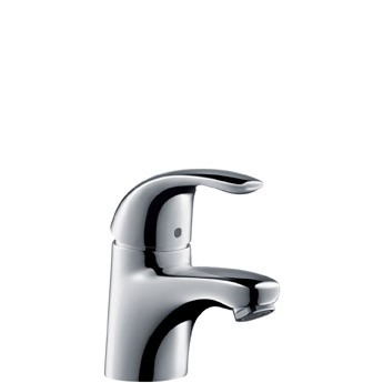 Hansgrohe Focus E Project chrom, ohne Ablaufgarnitur