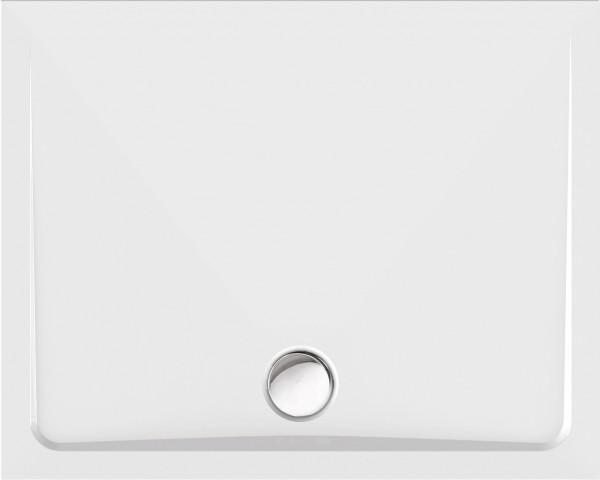 Rechteckduschwanne Gono 120×100cm, weiß