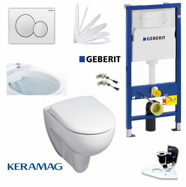 geberit duofix vorwandelement keramag renova nr 1 rimfree sp lrandlos wc komplettset. Black Bedroom Furniture Sets. Home Design Ideas